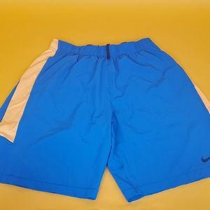 Nike Training Men short sport gym sz M blue